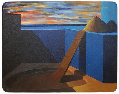 Ángel Padrón, 'Construcción y excavación', 2000