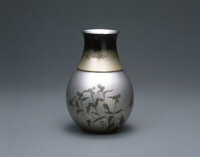 """Okuyama Hoseki, 'Flower Vase """"Dew Grass""""', 2003"""