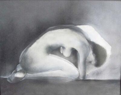 Anne De Villeméjane, 'Nu Dechire Noir I'