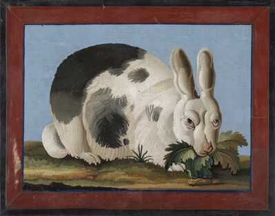 Giacomo Raffaelli, 'Mosaic Plaque Depicting a Rabbit', First quarter of 19th century