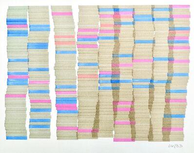 Vera Molnar, 'Hommage à Monet', 1983