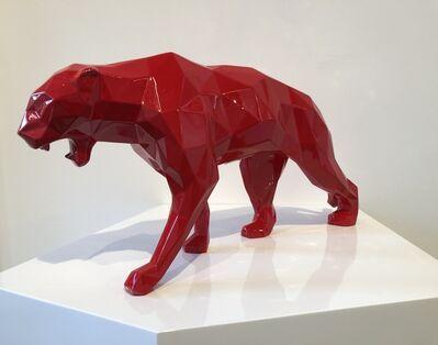 Richard Orlinski, 'Panthère - Rouge', 2019