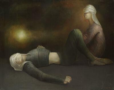 Leonor Fini, 'Voyageurs au repos', 1978