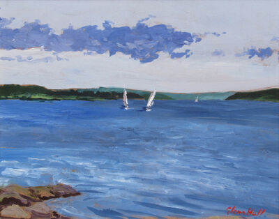 Glenn Hall, 'Sailboats', 2018