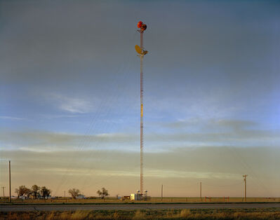 Steve Fitch, 'Radio Tower on the Llano Estacado near Umbarger, Texas; March 11, 2005'