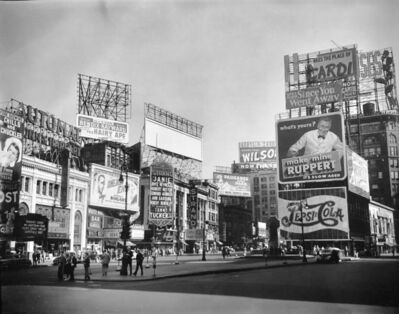 Brett Weston, 'Times Square, New York', 1945
