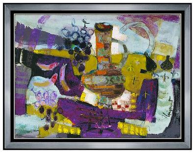 James Coignard, 'James Coignard Original Oil Painting On Canvas Signed Large Still Life Artwork', 1961