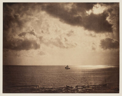 Gustave Le Gray, 'Brig on the Water', 1856