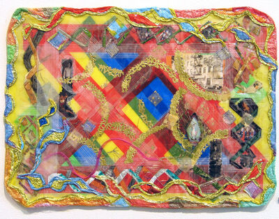 Thomas Lanigan-Schmidt, 'Placemat (The Space in Between)', 2006