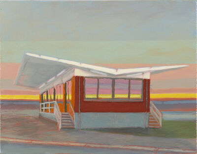 Greg Drasler, 'Bus Stop/Check Point 14', 2020