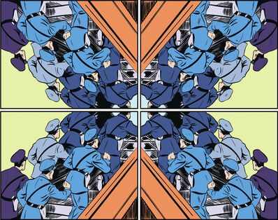Matthew Borgen, 'Cop Kaleidoscope ', 2016