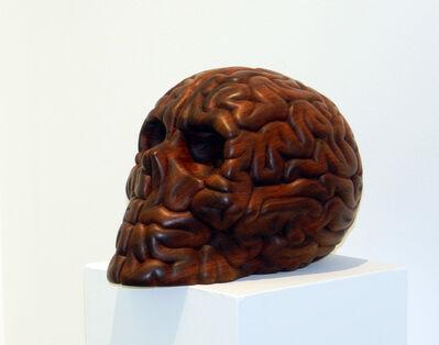 "Emilio Garcia, '""Skull Brain Wood""', 2018"