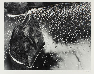 Stu Levy, 'Rock & Pond, Portland', 1988