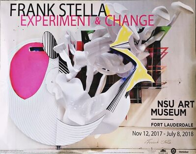 Frank Stella, 'Experiment and Change (Hand Signed)', 2017