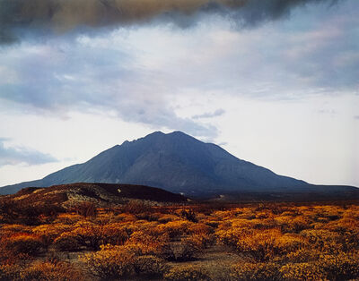 Eliot Porter, 'Sunset behind Las Tres Virgenes Volcano, Near Mezquital, Baja, California, August 12', 1966