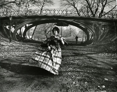 Bill Cunningham, 'Central Park bridge, New York', ca. 1968-1976