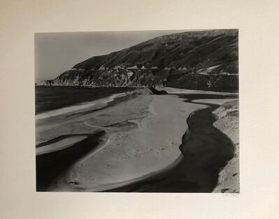 Cole Weston, 'Little Sur River', 1947
