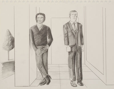 Patrick Angus, 'Untitled ( Man and Boy )', n.a.