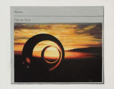 Hugh Mendes, 'Obituary: Nancy Holt', 2015