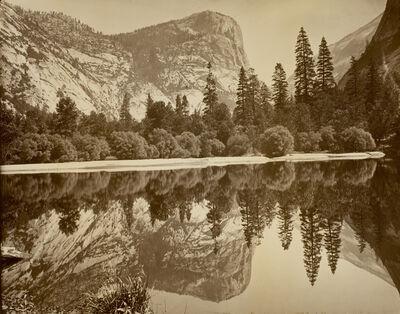 Eadweard Muybridge, 'Mirror Lake and Reflections', ca. 1872