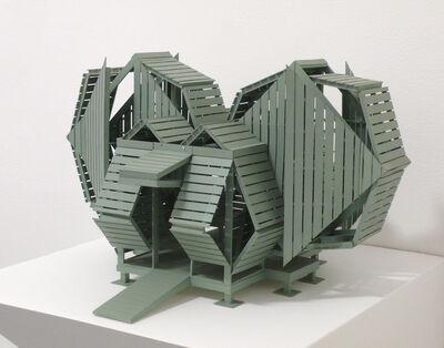 Michael Jantzen, '4-Square Pavilion (Maquette)', 2014