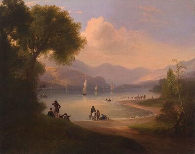 Alvan Fisher, 'River Landscape', Circa 1840s-1850s