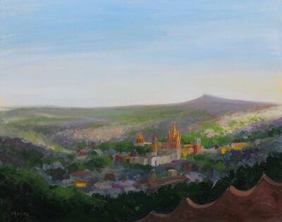 Wright Moore, 'San Miguel Vista from El Mirador', 2018