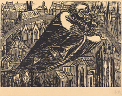 Ernst Barlach, 'The Cathedrals', 1920