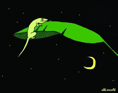 Alli Arnold, 'Florida Lizard Print', 2018