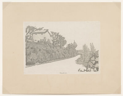 Giorgio Morandi, 'La strada bianca, 1933 (Vitali 104)', 1933