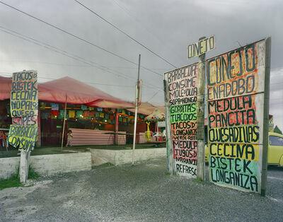 Jim Dow, 'Taquería on Rte. 95, Near Tres Marias, Morelos, Mexico', 2007