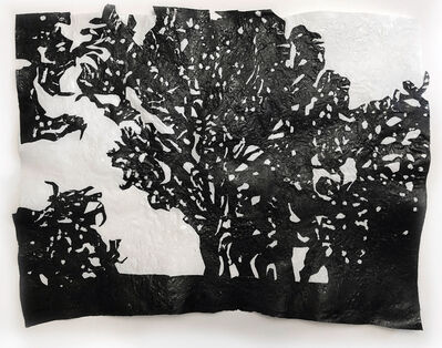 Amparo Sard, 'Landscape 1(Black brush in Mallorca)', 2020