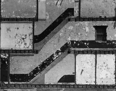 George Tice, 'Wall, Chestnut Street, Newark, NJ', 1967