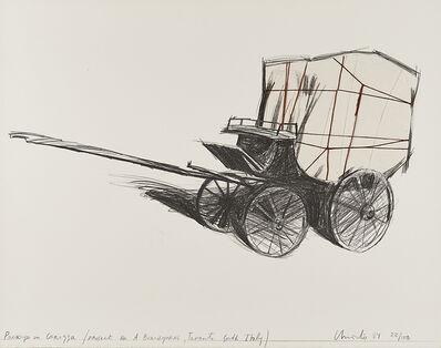 Christo, 'Package on Carozza', 1984