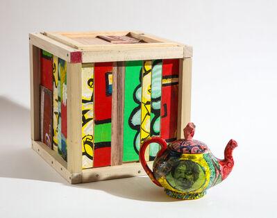 Roberto Lugo, 'Stacey Abrams Teapot and Box Set', 2021