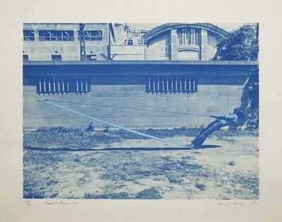 Keiji Uematsu, 'Board-Rope-Man', 1975