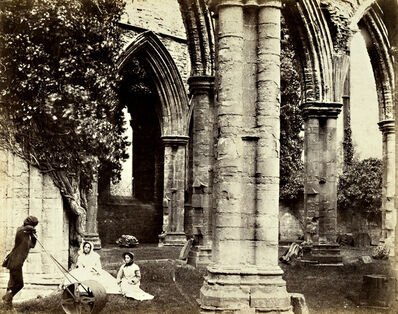 Roger Fenton, 'Interior - Tintern Abbey'
