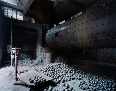 Edward Burtynsky, 'Three Gorges Dam Project, Wushan #6, Cement Plant, Yangtze River, China', 2002