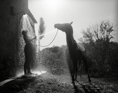 John Goodman, 'Tuscan Shower, Tuscany', 1995-printed later