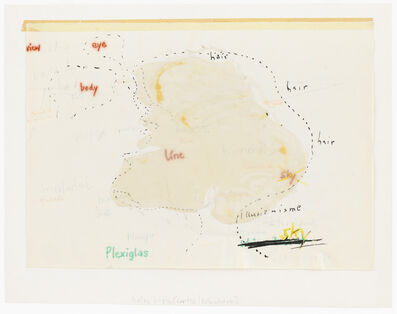 Gerhard Hoehme, 'untitled', 1968