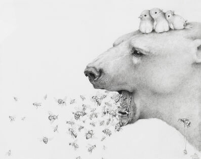 Adonna Khare, 'Polar Bears and Bees', 2018