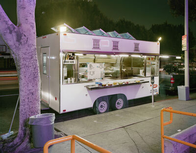 Jim Dow, 'Taco Truck in Front of Check Cashing Office, Los Angeles, California', 2009