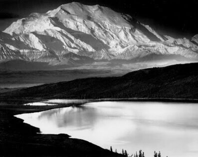 Ansel Adams, 'Mt McKinley and Wonder Lake', 1947