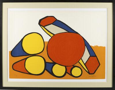 Alexander Calder, 'Composition cercles et tubes', 1970