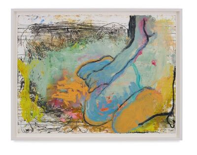 Rita Ackermann, 'Mama Study 16', 2020