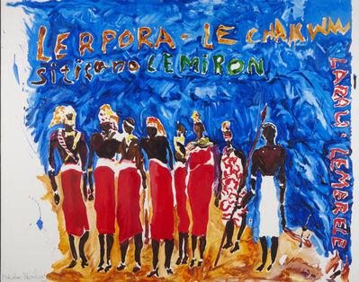 Malcom Morley, 'Tribal Dance', 1985