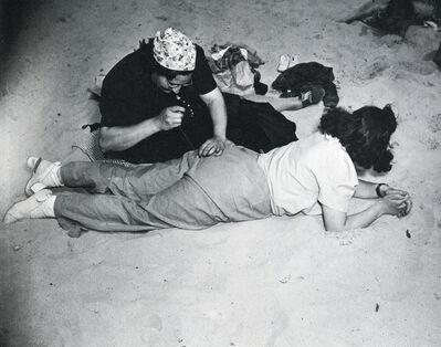 Weegee, 'Coney Island (Sewing Pants)', 1940