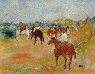 Henry Botkin, 'Riders by the Sea'