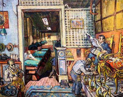 Philip Reisman, 'Nick's ', 1950