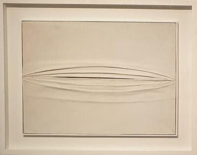 Piero Manzoni, 'tela grinzata', 1958